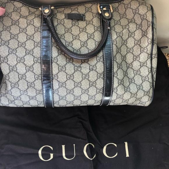 f9e583773fef Bags | Authentic Gucci Boston Bag | Poshmark